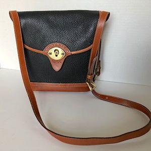 Vintage Dooney & Bourke Black Shoulder Bag